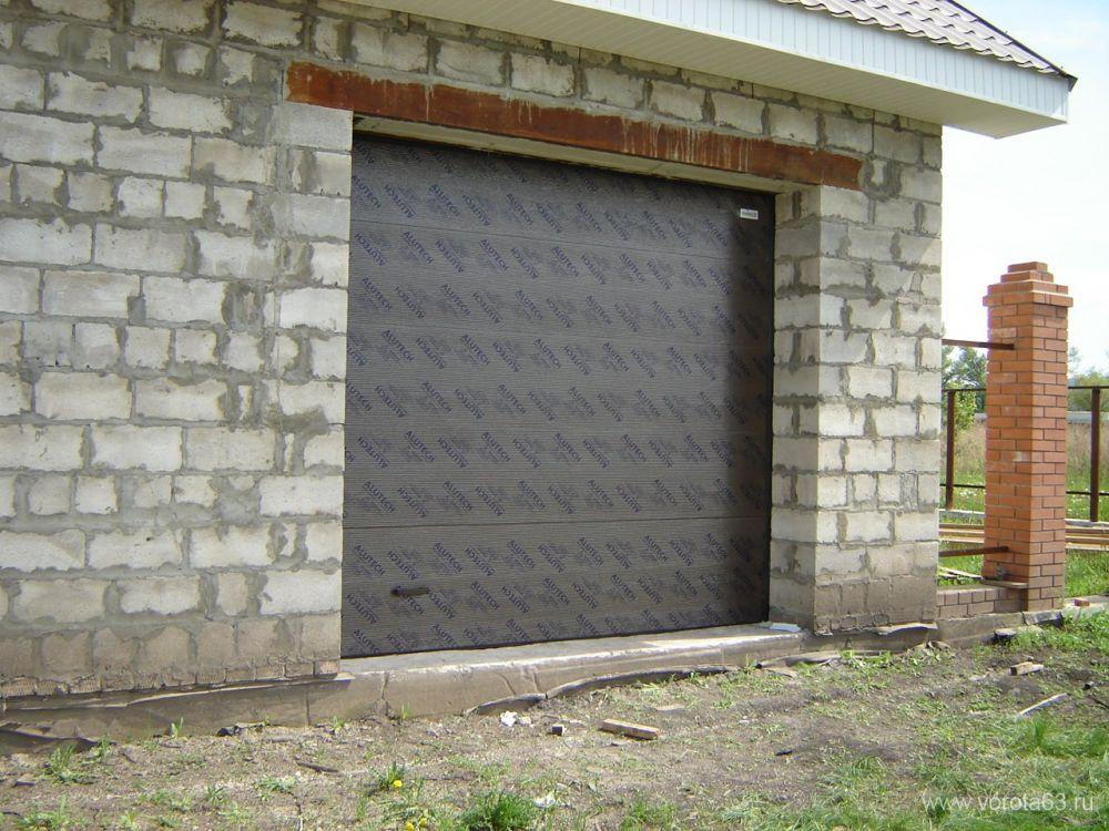 секционные гаражные ворота мурманск