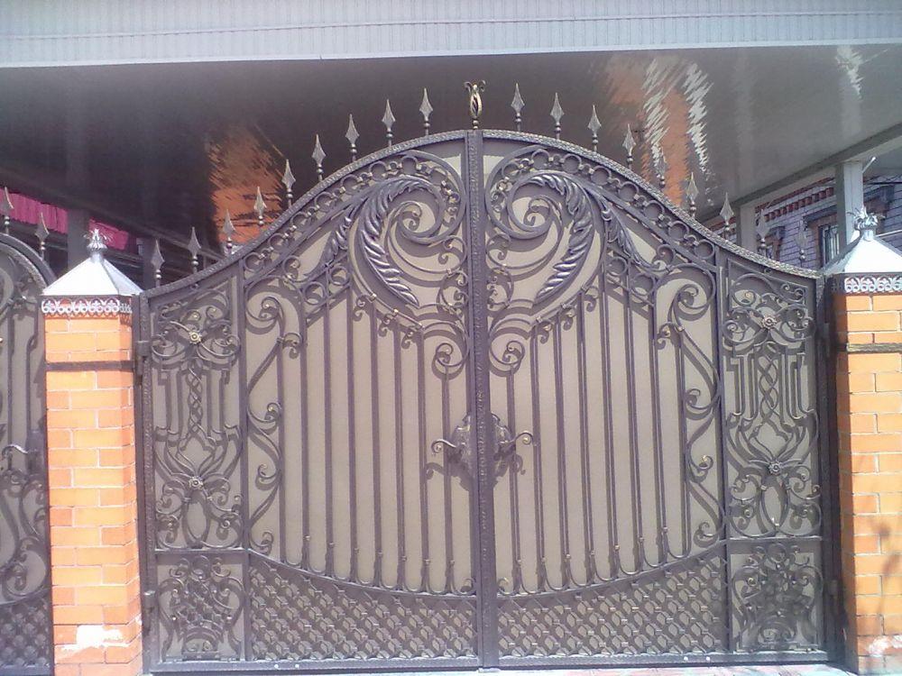 купить кованые ворота цены краснодарский край
