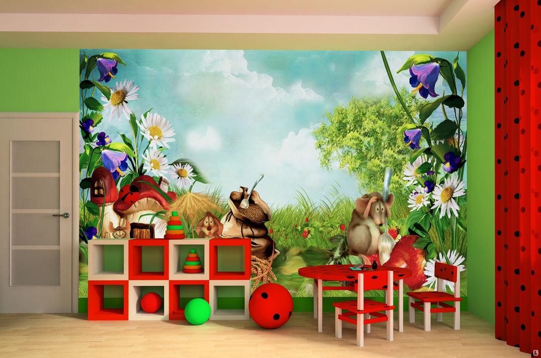 фотообои для детской комнаты цена: