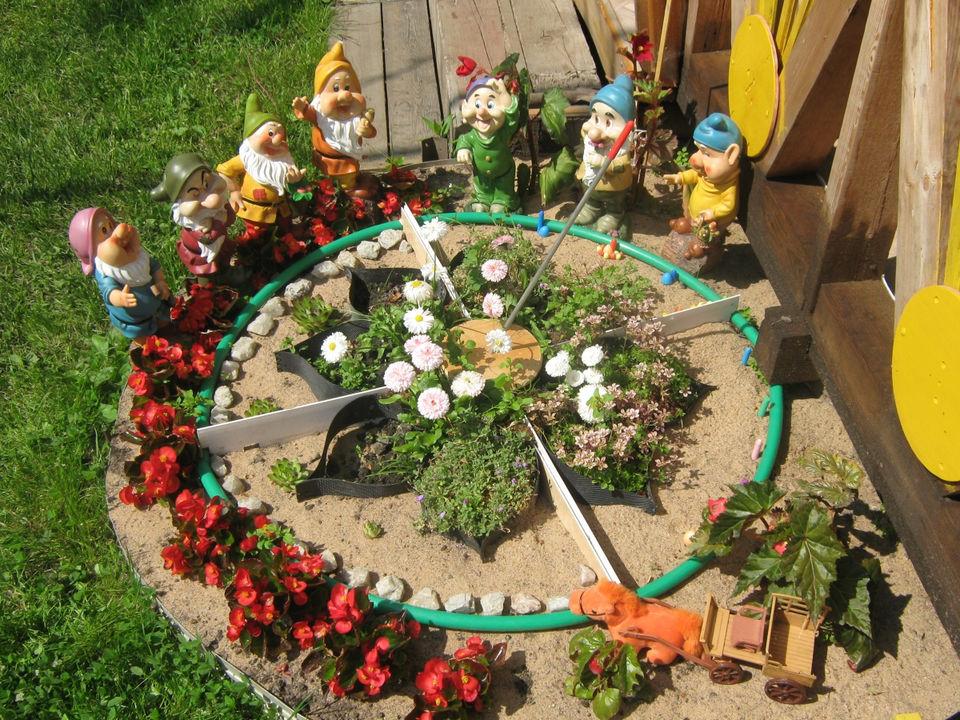 Украшения для сада из подручных средств своими руками