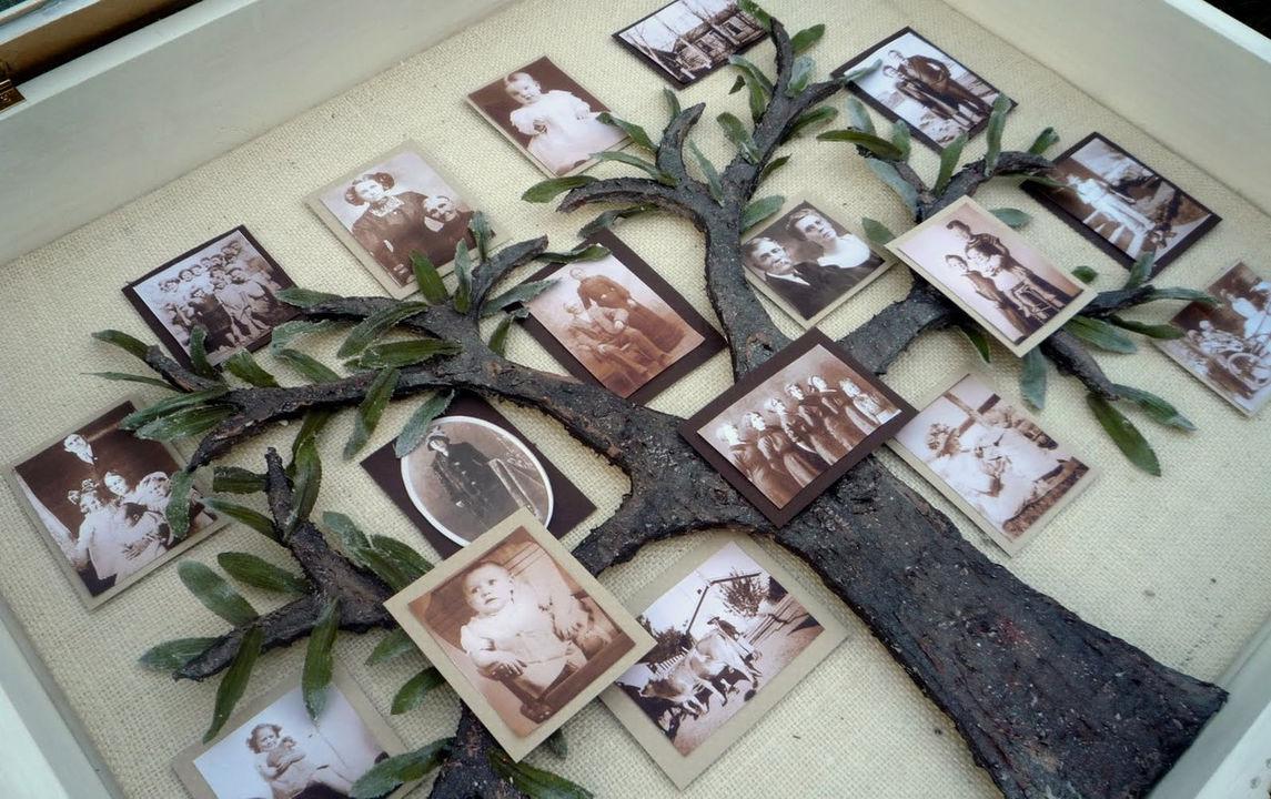 Деревья на стенах своими руками фото