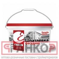 Шпатлёвка фасадная водостойкая FASADE PASTA 16 кг