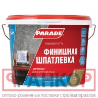 Шпатлевка акрил. PARADE S41 финишная 10л Россия