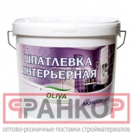 Шпатлевка Акрилит-406 интерьерная белая 33 л