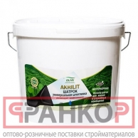 Шпатлевка Акрилит-410 Шатрок белая 5 л
