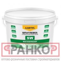 Шпатлевка SW универсальная водостойкая Waterproof  ведро 3 кг
