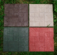 Плитка полимерпесчаная 330х330х22